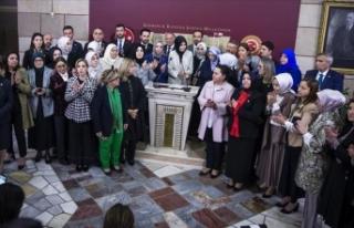 AK Parti milletvekilleri, CHP Grup Başkanvekili Özkoç'u...