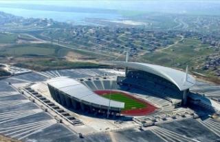 'Atatürk Olimpiyat Stadı'nın üstünü...