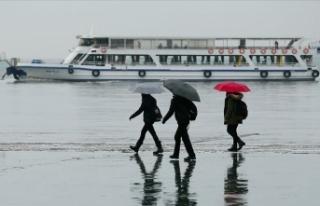 Batı Anadolu için kuvvetli yağış ve fırtına...