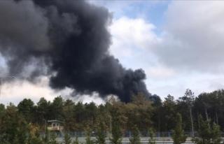 Çekmeköy'deki orman yangını kontrol altına...