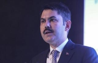 Çevre ve Şehircilik Bakanı Kurum: İnsan merkezli...