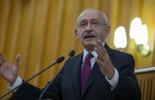 CHP Genel Başkan Kılıçdaroğlu: Hiç kimsenin...