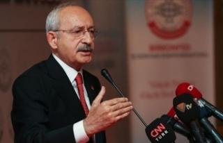 CHP Genel Başkanı Kılıçdaroğlu: En temel sorun...