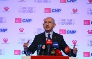CHP Genel Başkanı Kılıçdaroğlu: Siyasette yeni...