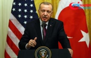 Cumhurbaşkanı Erdoğan: ABD ile yeni bir sayfa açmakta...