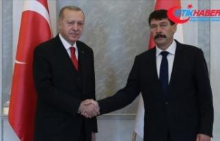 Cumhurbaşkanı Erdoğan Macaristan Cumhurbaşkanı...