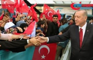 Cumhurbaşkanı Erdoğan: YPG ve PYD'yi 'Kürt'...