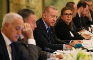 Cumhurbaşkanı Erdoğan ABD'de Yuvarlak Masa...