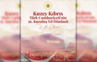 Cumhurbaşkanı Erdoğan'dan KKTC'nin 36....