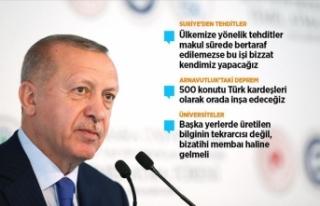 Cumhurbaşkanı Erdoğan: Türkiye'yi NATO'dan...