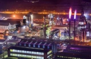 Demir çelik fabrikasında basınç patlaması : 1...