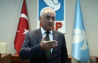 DSP Genel Başkanı Aksakal: DSP, sol kavramını...