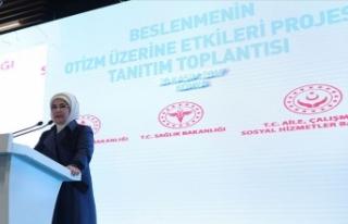 Emine Erdoğan: Araştırmalar doğru beslenmenin...