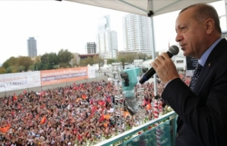 Erdoğan: Ben cumhurbaşkanlığımı ortaya koyuyorum...