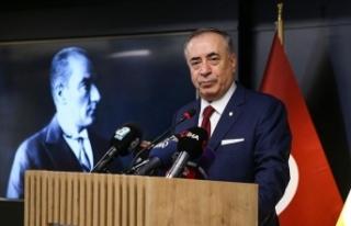Galatasaray Kulübü Başkanı Mustafa Cengiz, şampiyonlukta...