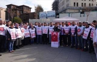 İBB'de işten çıkarılan işçiler imza kampanyası...
