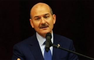 """İçişleri Bakanı Soylu: """"Türkiye'de..."""