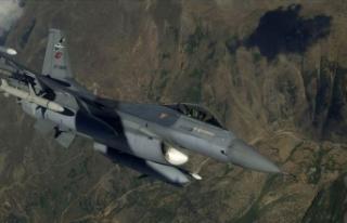 Irak'ın kuzeyinde 6 PKK'lı terörist etkisiz...