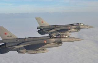Irak'ın kuzeyinde PKK'lı 4 terörist etkisiz...