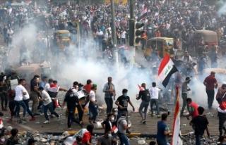 Irak'taki göstericiler ülkenin en önemli petrol...