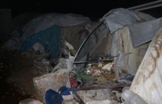 İran destekli gruplar İdlib'de kampa saldırdı:...