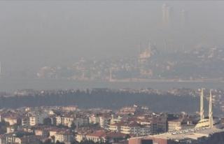 İstanbul'da bazı kesimlerde sis etkili oluyor