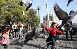 Marmara'da sıcaklıklar mevsim normalleri üzerinde...