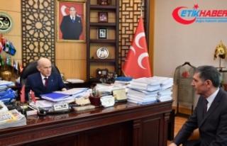 MHP Lideri Bahçeli TÜRKGÜN'e konuştu: CHP'ye...