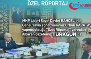 MHP Lideri Devlet Bahçeli'nin röportajı yarın...