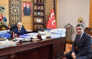MHP Lideri Bahçeli'nin TÜRKGÜN'e özel...