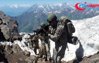 MSB: Pençe operasyonlarında bugüne kadar 163 terörist...