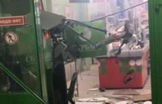 Rusya'da hırsızlar ATM'yi bombayla havaya...