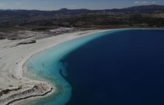 Salda Gölü Tabiat Parkı alanı genişletildi