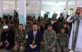 Tel Abyad'da Barış Pınarı Harekatı şehitleri...
