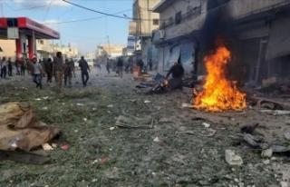 Tel Abyad'da pazar yerine bombalı saldırıda 13...