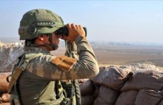 Teröristler Barış Pınarı Harekatı bölgesine...