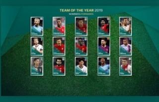 UEFA yılın 11'i için aday oyuncuları oylamaya...