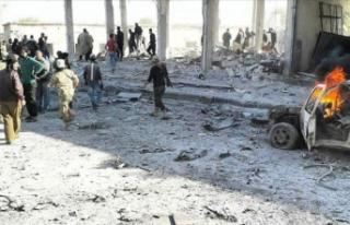 YPG/PKK Tel Abyad'da bombalı araçla saldırı...