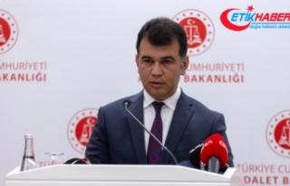 Adalet Bakanlığı Sözcüsü Çekin'den Ceren...