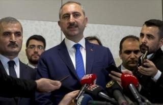 Adalet Bakanı Gül: Doğu Akdeniz'de uluslararası...