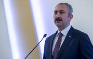 Adalet Bakanı Gül: Kadına karşı şiddet konusunda...