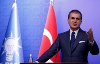 AK Parti Sözcüsü Ömer Çelik: Türkiye Akdeniz'de...
