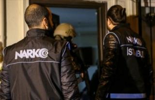 Ankara'da kasımda yapılan uyuşturucu operasyonlarında...