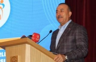 Bakan Çavuşoğlu'ndan Kanal İstanbul açıklaması