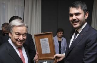 Bakan Kurum: 'Guterres iklim değişikliği müzakerelerinde...