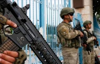 Barış Pınarı Harekatı bölgesinde 104 terörist...