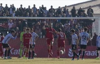 Beşiktaş maçı kaybetmesine rağmen tur atladı