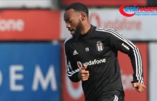 Beşiktaşlı futbolcu N'Koudou'da kas zorlanması...