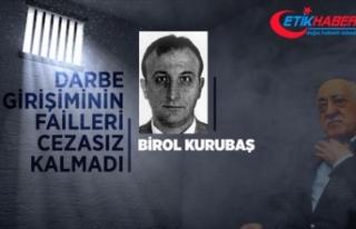 Çatının mahrem imamı Birol Kurubaş'a ağırlaştırılmış...
