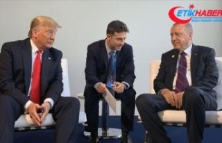 Cumhurbaşkanı Erdoğan ile ABD Başkanı Trump bir...